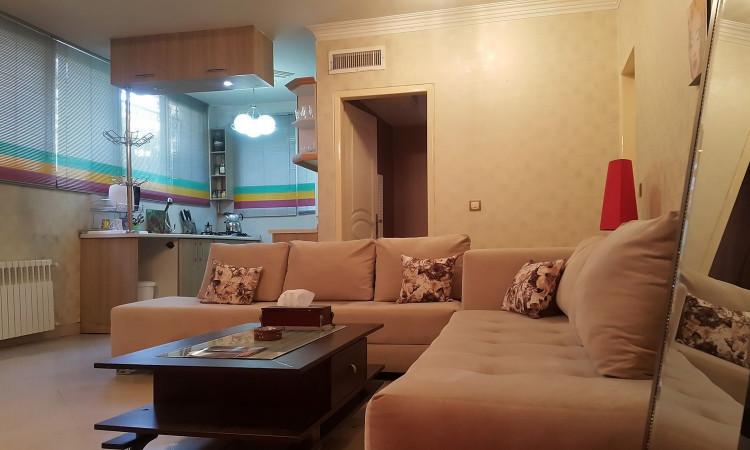 اجاره آپارتمان مبله یک خوابه-شهرک غ