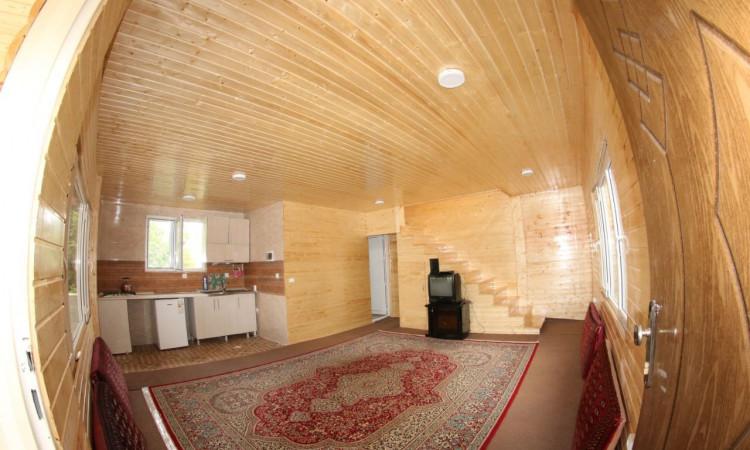 ویلا دوبلکس چوبی