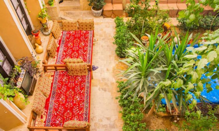 بومگردی خانه خشتی یزد (اتاق 4 تخته)