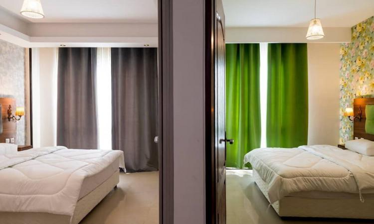 آپارتمان مبله دو خوابه مرکز شهر