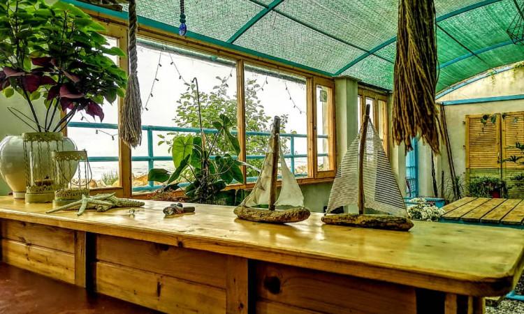 دهکده چوبی ساحلی