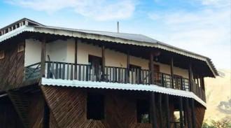 کلبه چوبی ویلایی آرمان - الموت