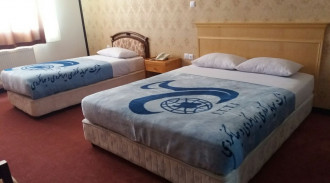 هتل جهانگردی علیصدر - اتاق سه تخته