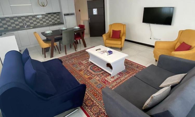 آپارتمان نوساز یک خوابه شهرک صدف