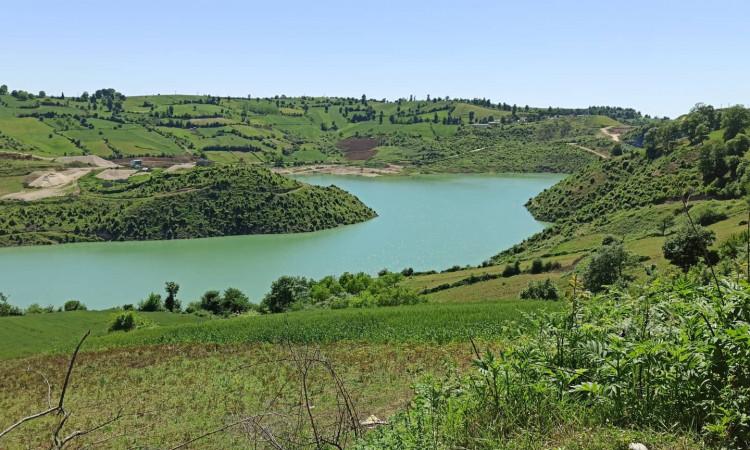ویلا جنگلی کنار دریاچه سد